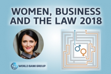 Дослідження «Women, Business and the Law 2018»