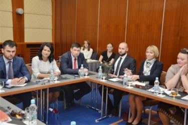 Встреча с делегацией представителей из Канады